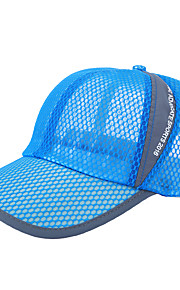 Chapeau Unisexe Résistance aux UV / Respirable Head Exercice & Fitness / Baseball / Golf Blanc / Rouge / Gris / Noir / Bleu Coton