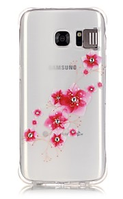 terug Stootvast Other TPU Zacht Popular Brands  Calling Flash  Painted Patterns Geval voor Samsung Galaxy S7 edge / S7 / S6