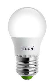 3W E26/E27 LED-globepærer G45 6 SMD 240-270 lm Varm hvit / Kjølig hvit Dekorativ AC 100-240 V 1 stk.