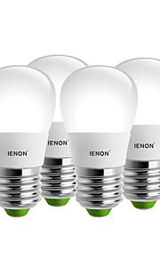 5W E26/E27 LED-globepærer S14 8 SMD 400-450 lm Varm hvit / Kjølig hvit Dekorativ AC 100-240 V 4 stk.