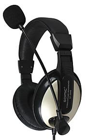 Sennic ST-2688 해드폰 (헤드밴드)For미디어 플레이어/태블릿 / 모바일폰 / 컴퓨터With마이크 포함 / DJ / 볼륨 조절 / 게임 / 소음제거 / Hi-Fi