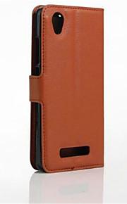 풀 바디 지갑 / 스탠드 / 튀기다 한색상 인조 가죽 소프트 Wallet type bracket / flip / mobile phone shell 케이스 커버를 들어 Other ZTE Blade A452