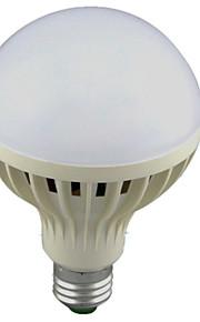 12W E26/E27 Smart LED Glühlampen A60(A19) 24 SMD 2835 1100lm lm Kühles Weiß Sensor / Geräusch aktiviert AC 220-240 V 1 Stück