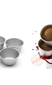 britisk merke barnas pudding terte mold terte mold muffin kake pan non-stick karbonstål no.