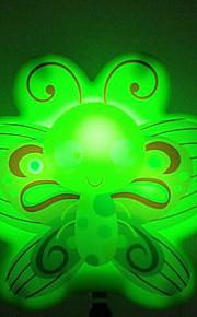 perhoset älykäs valon tunnistin johti yövalo vihreä