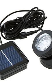 3W Soldrevne LED-lamper 300 lm Kjølig hvit DIP-LED Oppladbar / Dekorativ / Vanntett <5V V 1 stk
