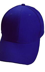 Chapeau Unisexe Résistance aux UV / Respirable Head Exercice & Fitness / Pêche / Baseball / Golf Blanc / Rouge / Noir / Bleu Coton