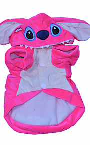 Gatos / Perros Disfraces / Mono Rosado Invierno / Primavera/Otoño Animal Cosplay / Halloween, Dog Clothes / Dog Clothing-Other