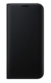 Per Samsung Galaxy S7 Edge A portafoglio / Porta-carte di credito / Con supporto / Con chiusura magnetica Custodia Integrale Custodia