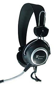 SENICC ST-818 해드폰 (헤드밴드)For미디어 플레이어/태블릿 / 모바일폰 / 컴퓨터With마이크 포함 / DJ / 볼륨 조절 / 게임 / 소음제거