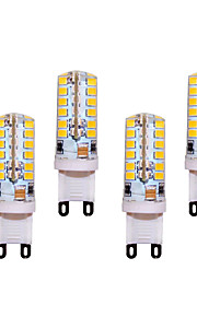 5W G9 LED Bi-pin Lights T 48 SMD 2835 400 lm Warm White / Cool White Decorative AC 220-240 V 4 pcs