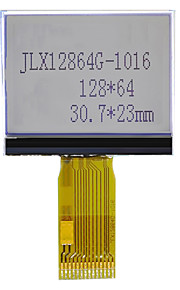 12864G-1016F Liquid Crystal Display Module 12864 LCD Screen COG Dot Matrix Screen Serial Welding
