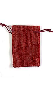 אחסון ועבודה ארון תיקי נשיאה ותרמילי גב לנסיעות בד נייד אדום / חום / כתום