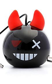 mini stereo, reser bas, bärbar minihögtalare, inbyggd litiumbatteri