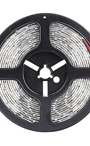SENCART 5 M 300 5630 SMD לבן חמים / לבן / אדום / צהוב / כחול / ירוק חסין למים / ניתן לחיתוך / ניתן להרכבה / מתאים לרכבים / נדבק לבד Wסרטי