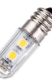 1 E14 Lâmpadas Espiga T 77 SMD 5050 60 lm Branco Quente / Branco Frio Decorativa AC 220-240 V 1 pç