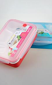 marca yeeyoo fiambrera de plástico de cierre promocional regalo para oficina y escolares