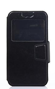 용 노키아 케이스 충격방지 / 방진 / 스탠드 / 윈도우 / 플립 케이스 풀 바디 케이스 단색 하드 인조 가죽 NokiaNokia Lumia 930 / Nokia Lumia 925 / Nokia Lumia 830 / Nokia Lumia 630