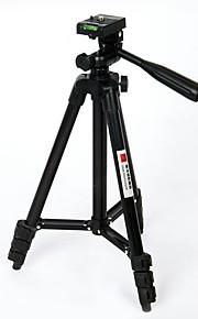 Secção quatro pretos câmara suporte de tripé de fotografia de alumínio câmeras digitais SLR tripé de câmera