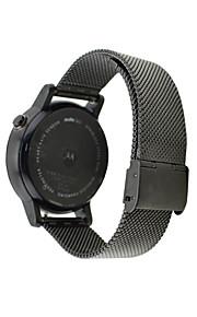 Milan Stainless Steel Watchband for Men Women Moto360 2nd 20mm/22kmm Waterproof Watch Band