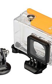 KingMa Underwater Housing Protective Waterproof Case for Xiaomi Xiaoyi 4K Action Camera -- yellow