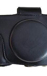 EM10II短焦 油皮相机包 Camera Case For Olympus EM10II Mini DSLR Camera (Black/Brown/Coffee)