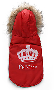 Dog Coat / Coat A variety of colors / Winter  Floral / Crowns Fashion