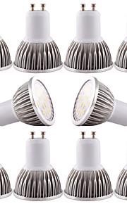 5W GU10 / GU5.3(MR16) / E26/E27 LED-spotpærer MR16 16 SMD 5730 480 lm Varm hvit / Kjølig hvit Dimbar / DekorativDC 12 / AC 12 / AC