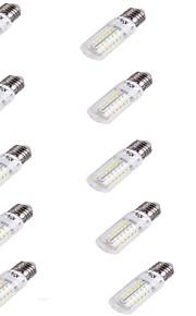 4 E26/E27 Lâmpadas Espiga T 56 SMD 5730 240 lm Branco Quente Decorativa AC 220-240 V 10 pçs
