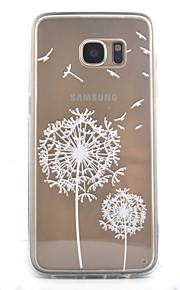 כיסוי אחורי Bisque שֵׁן הַאֲרִי אקרילי קשיח Case כיסוי Samsung Galaxy S7 edge / S7 / S6 edge / S6 / S5
