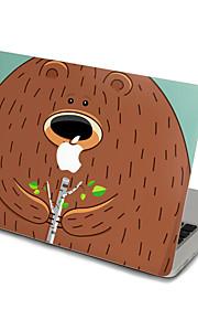 1 Stück Kratzfest Transparenter Kunststoff Gehäuse Aufkleber Cartoon-Bild / Ultra dünn / Matt FürMacBook Pro 15 '' mit Retina / MacBook