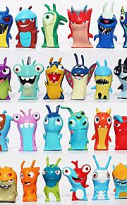 24pcs / sæt 5cm anime tegneserie slugterra mini pvc action figurer legetøj dukker barn legetøj gaver