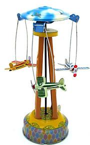 Игрушка новизны / Стресс Relievers / Логические игрушки / Игрушка с заводом Игрушка новизны / / Летательный аппарат / Карусель Металл