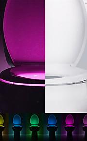 1W G9 / Фестон Утапливаемое крепление 1 Integrate LED 80-100 lm RGB Сенсорная / Декоративная Батарея V 1 шт.