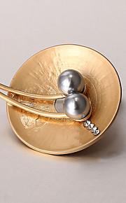 europæiske og amerikanske mode zircon perle broche serie 012