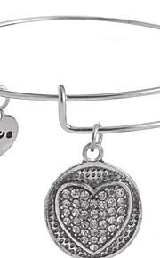 Bangles 1pc,Moderigtig Oval Shape / Others Gylden / Sølv / Kobberfarvet / Rose Guld Legering Smykker Gaver