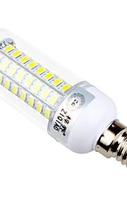 7,5 E14 / E26/E27 LED лампы типа Корн T 72 SMD 5730 960 lm Тёплый белый / Естественный белый Декоративная AC 220-240 V 1 шт.
