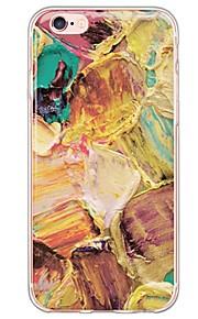 Skal Ultratunn / Genomskinlig Kamoflagefärg TPU Mjuk Fallet täcker för Apple iPhone 6s Plus/6 Plus / iPhone 6s/6 / iPhone SE/5s/5