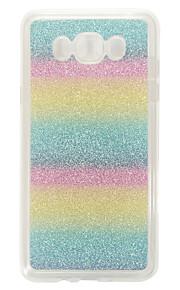 Per Samsung Galaxy Custodia Fantasia/disegno Custodia Custodia posteriore Custodia Glitterato Morbido TPU SamsungJ7 (2016) / J5 (2016) /