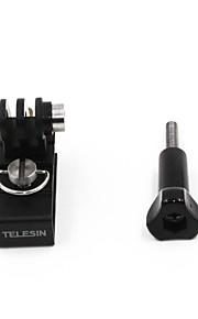 TELESIN Multi Functional Aluminum Alloy Cap Clip Mount Backpack Clip for GoPro,Xiaomi Yi4K