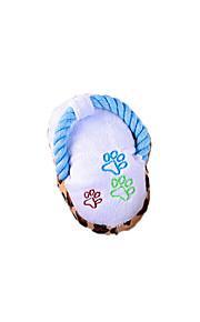 pet pantofole giocattoli di peluche