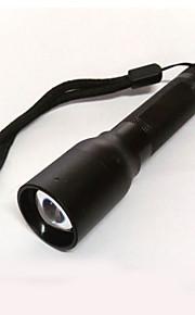 LED Lommelygter LED 2 Tilstand 300 Lumens Komapkt Størrelse / Nødsituation Cree XP-E R2 14500 / AACamping/Vandring/Grotte Udforskning /