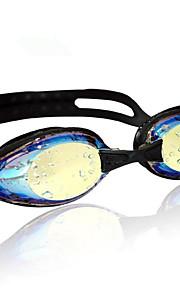 Swimming Goggles Unisex Sports / Diving Goggles Black Silicone Polycarbonate