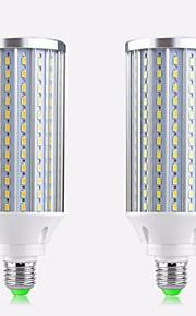 50W / 60W E26/E27 LED лампы типа Корн T 210 SMD 5730 4000 lm Тёплый белый / Холодный белый Декоративная AC 85-265 V 2 шт.