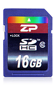 zp 16gb classe 10 sd / sdhc / sdxcmax lezen speed80 (mb / s) max write speed20 (mb / s)