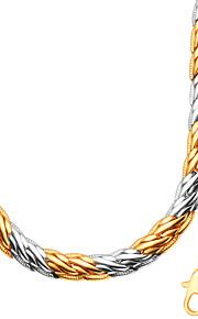 Smykker Halskæder / Armbånd Halskæde / Armbånd / Smykke Sæt Mode / Personlighed Bryllup / Party / Daglig / Afslappet 1setDame / Herre /