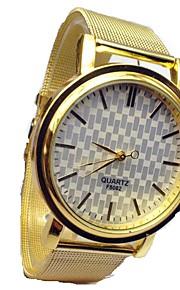 Mulheres Relógio de Moda Quartz / Lega Banda Casual Dourada marca