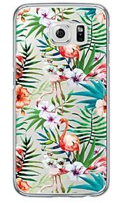 Per retro Ultrasottile / Traslucido Mattonella TPU Morbido Copertura di caso per Samsung GalaxyS7 edge / S7 / S6 edge plus / S6 edge / S6