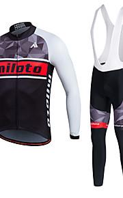 MILOTO Cycling Jersey Bicycle  Bib Short  Pants Trousers MTB Sweat Tracksuit Shirt Tops Bike Set Ropa Ciclismo