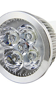 8W GU10 LED-spotpærer MR16 4LED Høyeffekts-LED 750LM lm Varm hvit / Kjølig hvit Dekorativ AC 85-265 V 1 stk.